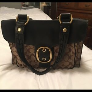 Coach traditional tote